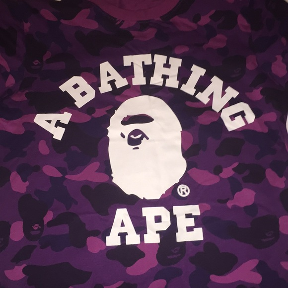 bb9e2d042 Bape Tops | Camo Shirt | Poshmark